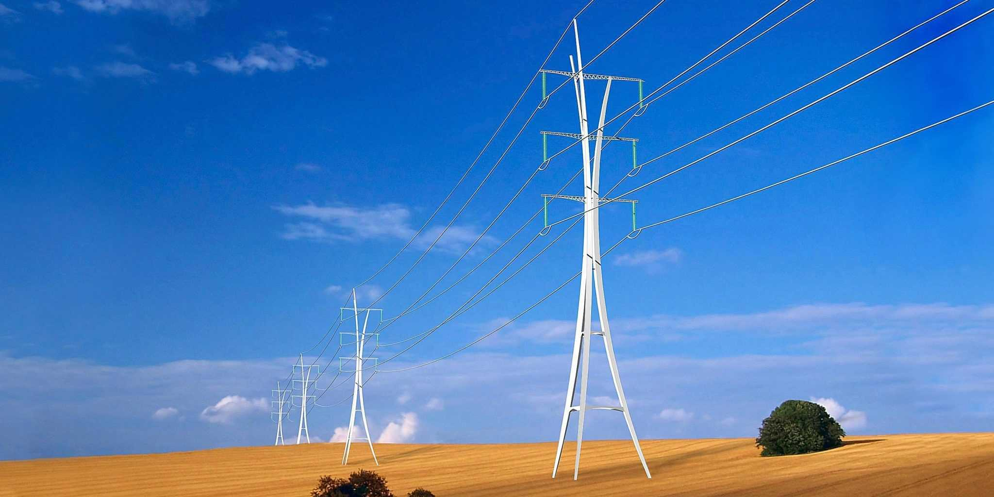 Pylônes très haute tension - DVVD