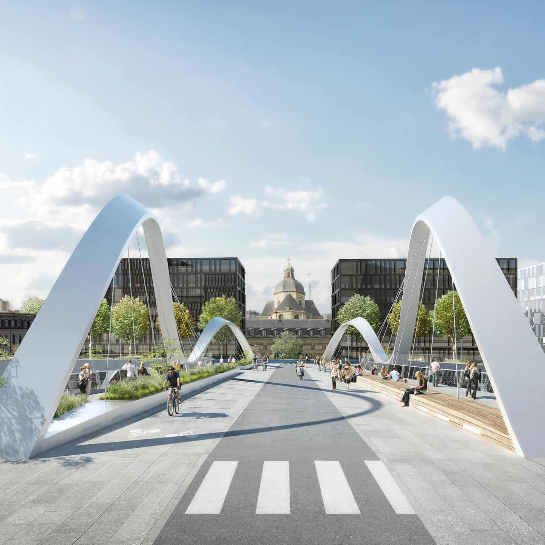 Pont de la Salpêtrière - DVVD