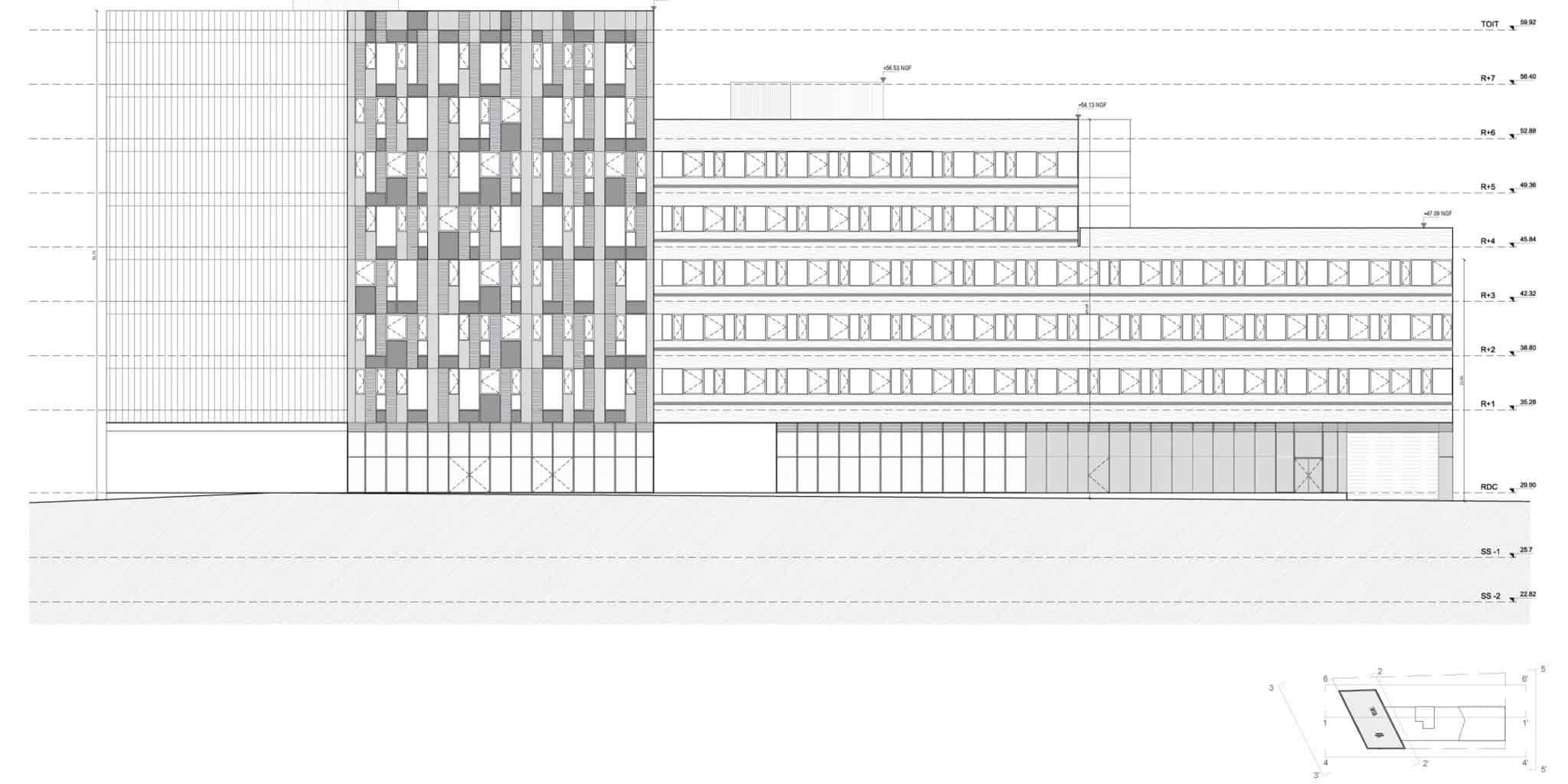 Immeuble ZAC Parc d'Affaires - DVVD