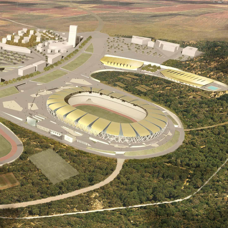 Stade olympique à Oran - DVVD