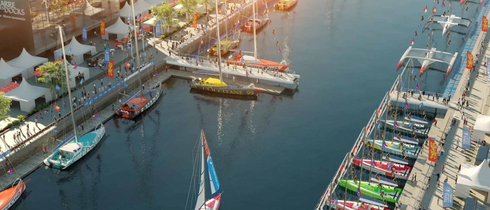 Passerelle mobile du bassin Paul Vatine – Le Havre